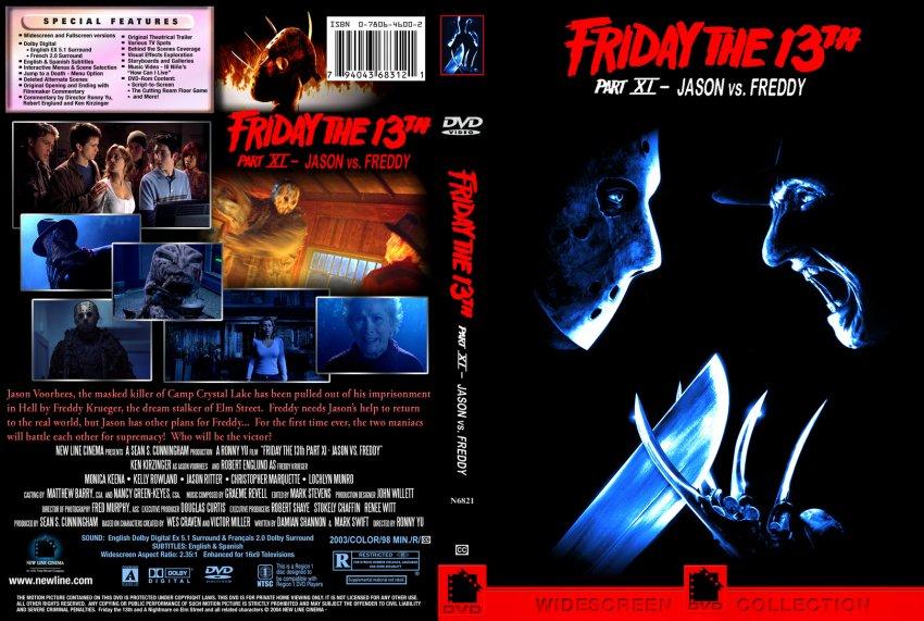 Friday the 13th part XI: Jason vs. Freddy - Movie DVD Custom ...