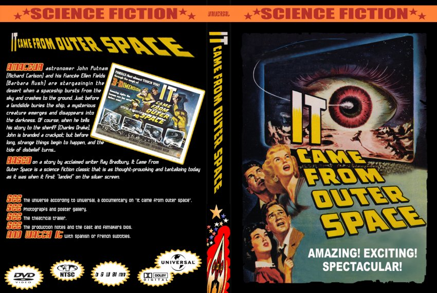It came from outer space movie dvd custom covers 271it for The thing that came from outer space