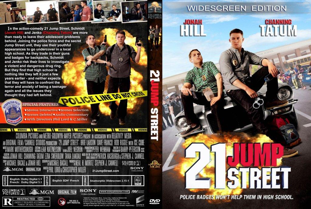 21 Jump Street - Movie DVD Custom Covers - 21 Jump Street ...