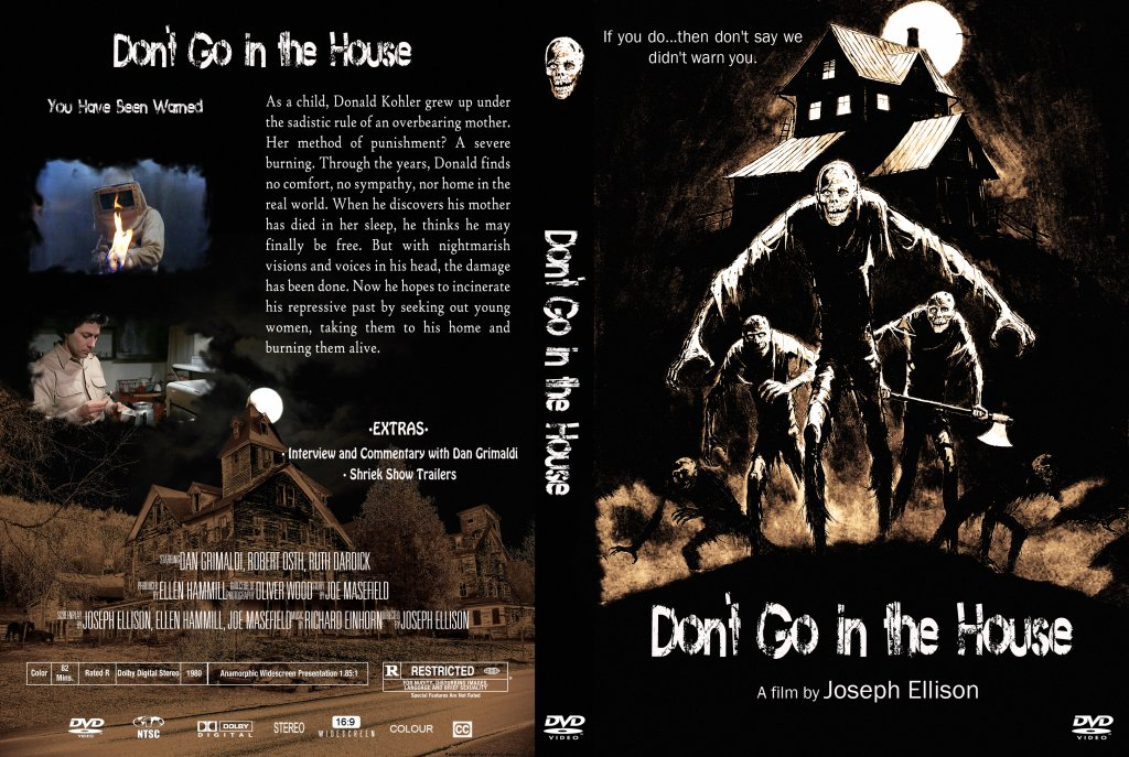 Don 39 T Go In The House Movie Dvd Custom Covers Don T Go