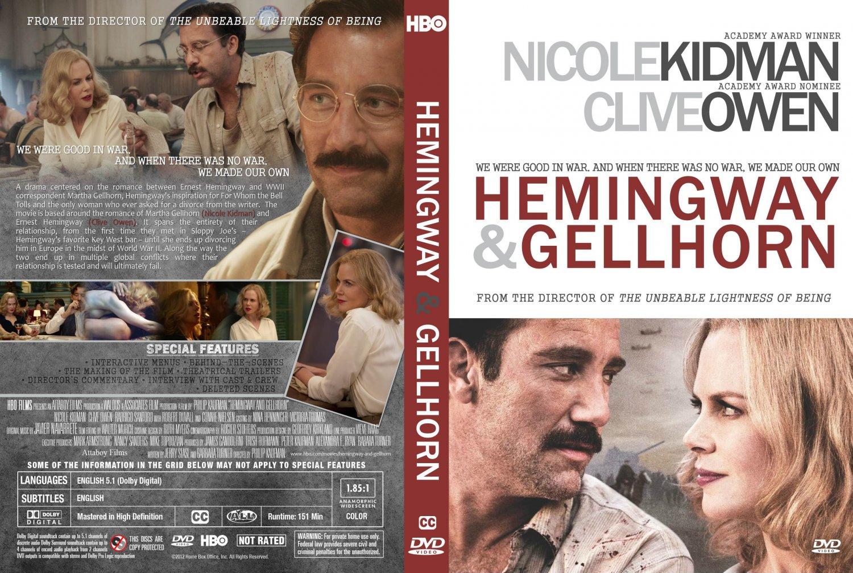 Hemingway & Gellhorn - Movie DVD Custom Covers - Hemingway Gellhorn ...