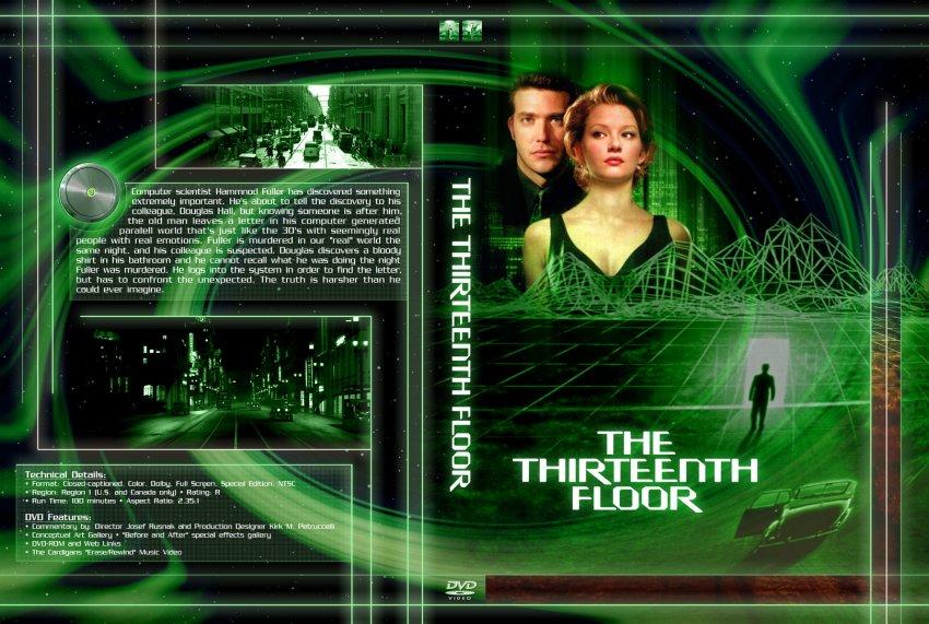 The thirteenth floor movie dvd custom covers 278613th for 13th floor movie online