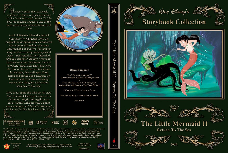 Little Mermaid II 2008 - Movie DVD Custom Covers - Little ...