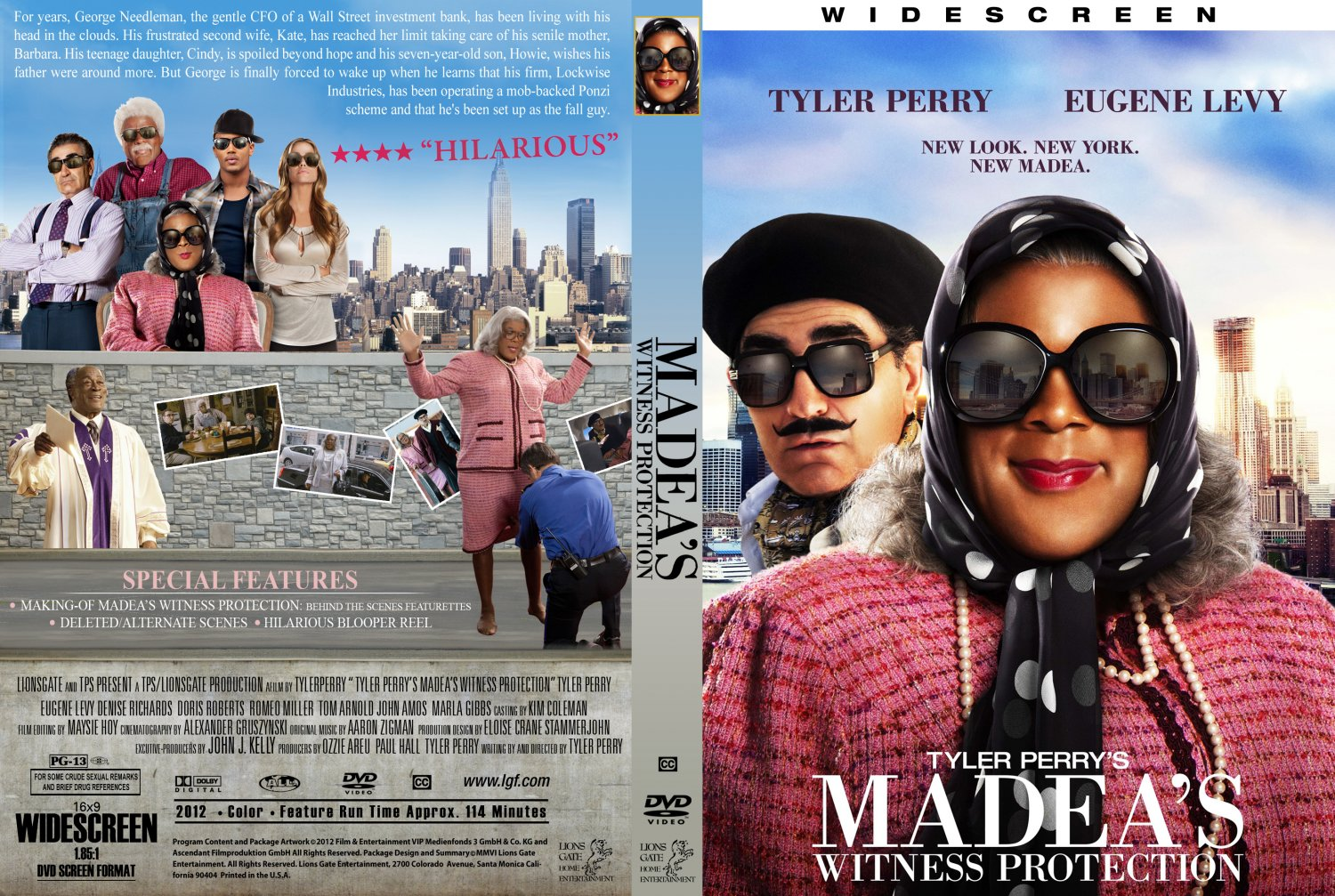 madeas witness protection dvd cover - photo #1