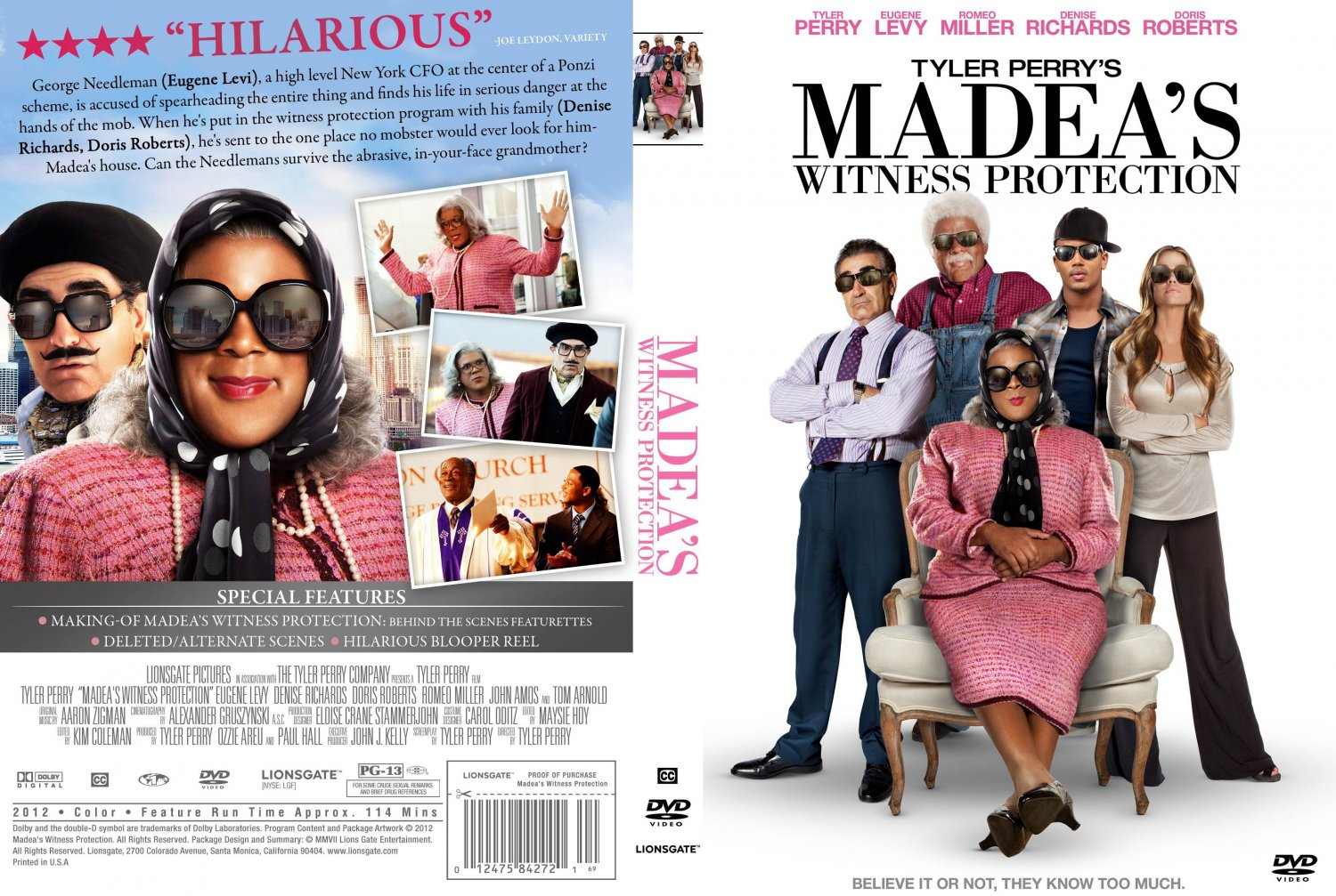 image gallery madea 39 s witness protection 2012 film. Black Bedroom Furniture Sets. Home Design Ideas