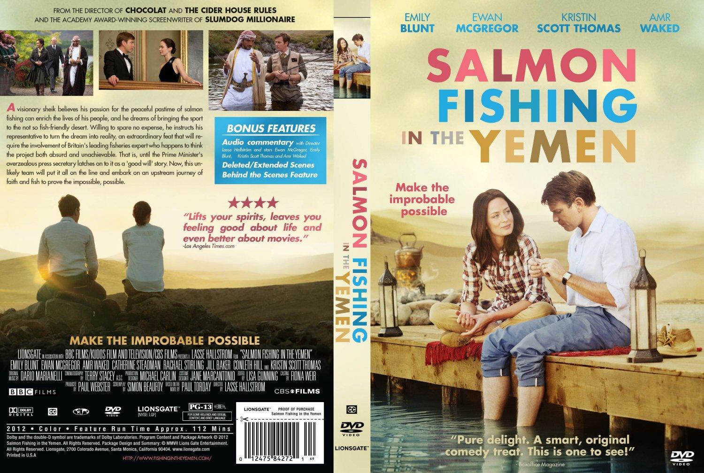 Salmon fishing in the yemen movie dvd custom covers for Salmon fishing in the yemen