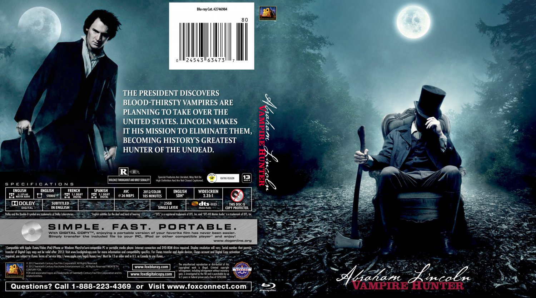 Abraham Lincoln Vampire Hunter - Movie Blu-Ray Custom ...