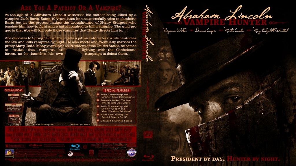 Abraham Lincoln: Vampire Hunter - Movie Blu-Ray Custom ...