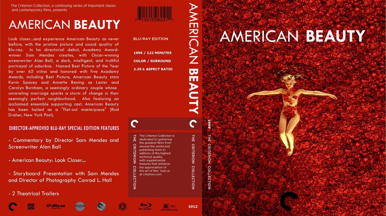 american beauty movie bluray custom covers american
