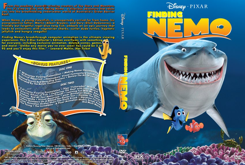 Finding Nemo - 2 Disc Collectors Edition - Movie DVD ...