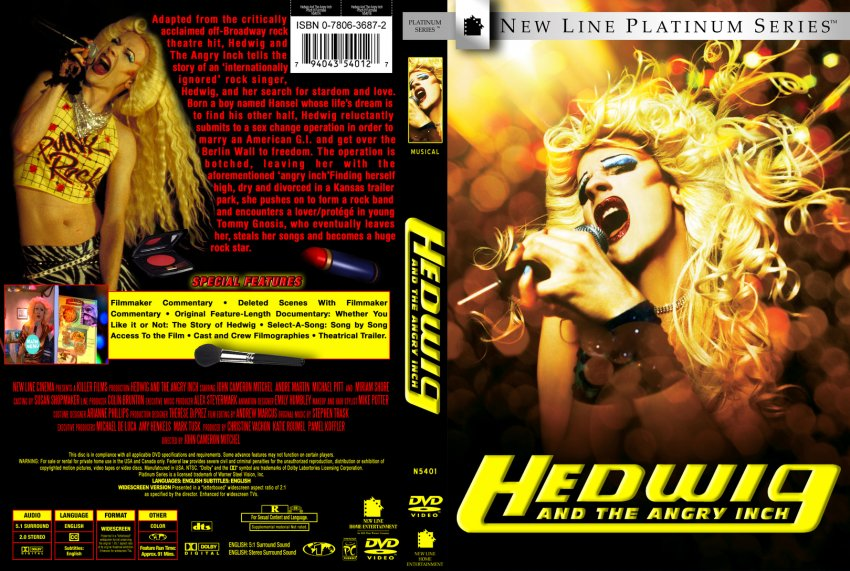 hedwig and the angry inch Hedwig and the angry inch is a 1998 musical about a fictional rock and roll band fronted by an east german genderqueer singer the text is by john cameron mitchell, and the music and lyrics are by stephen trask.