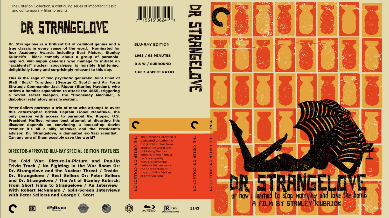 Dr Strangelove - Movie Blu-Ray Custom Covers - Dr ...