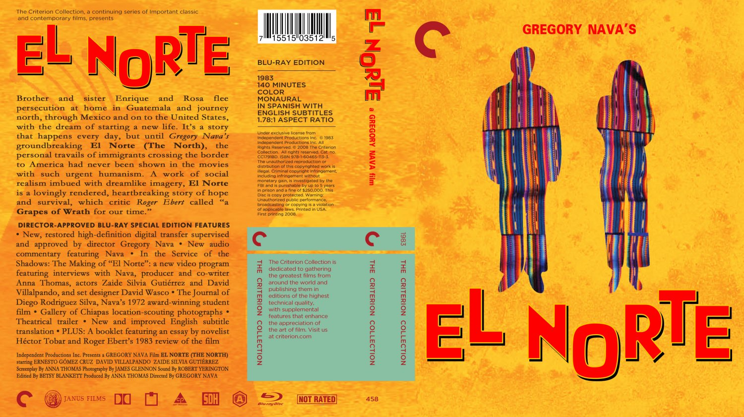 el norte movie essay Samantha vazquezchicano studiesel norte gregorio nava's el norte is an essential film el norte blog essay posted on the movie allows us to feel.