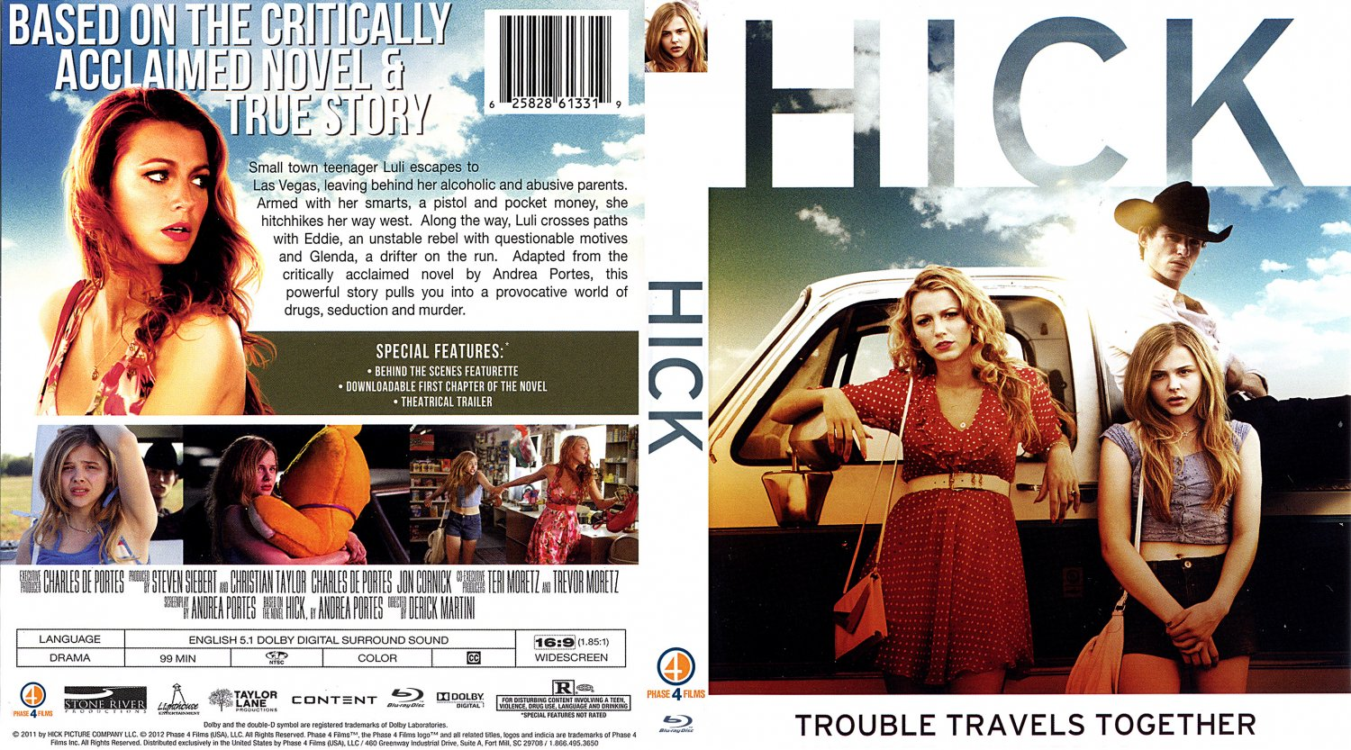 Hick - Movie Blu-Ray Custom Covers - Hick 2011 CustomBD :: DVD Covers: www.dvd-covers.org/art/Blu_Ray_Covers/Movie_Blu-Ray_Custom_Covers...