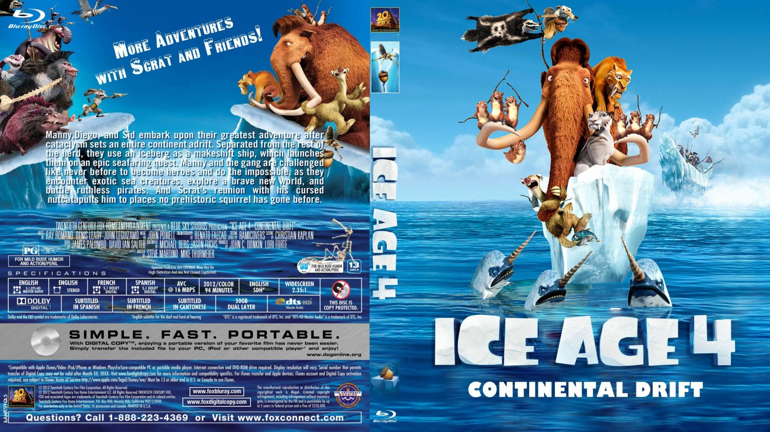 Ice Age Continental Drift Full Movie