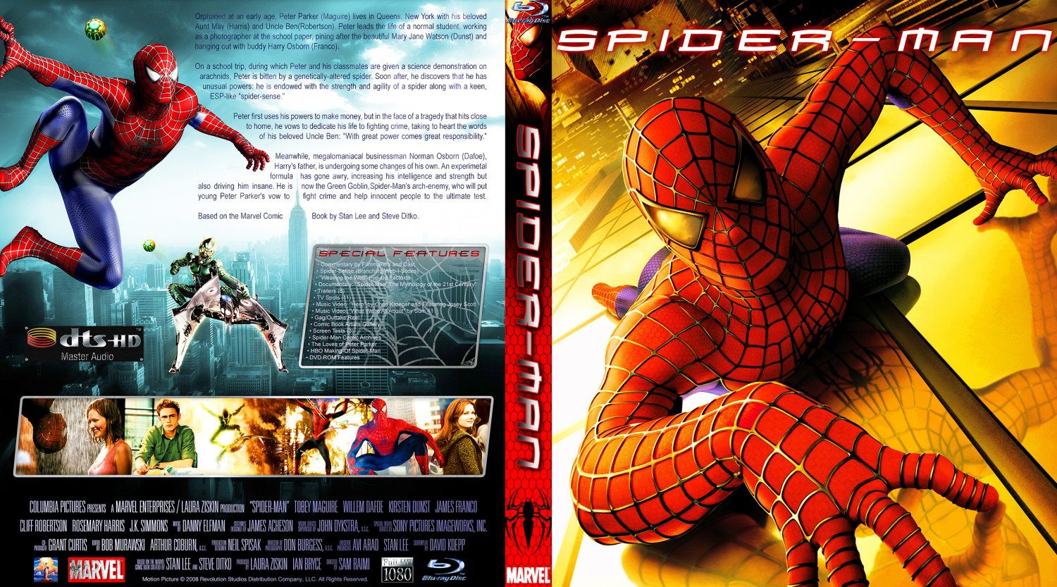Spider Man Dvd