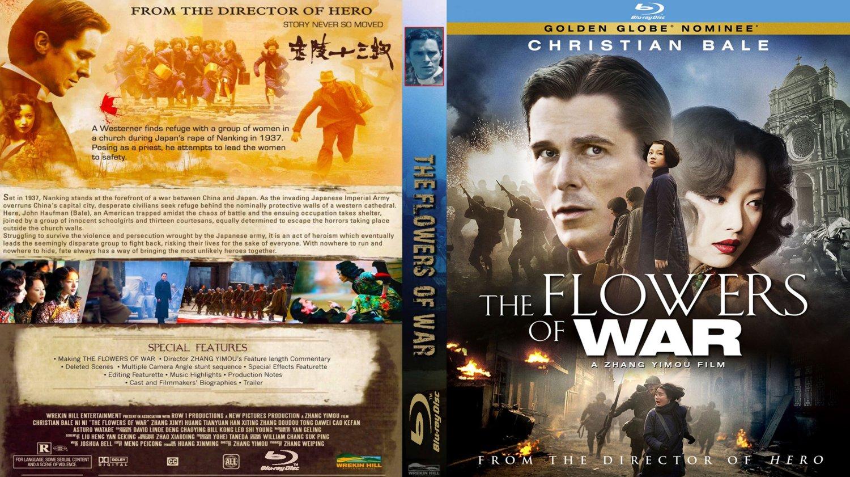 The Flowers War Movie Blu Ray Custom Covers The Flowers War Custo
