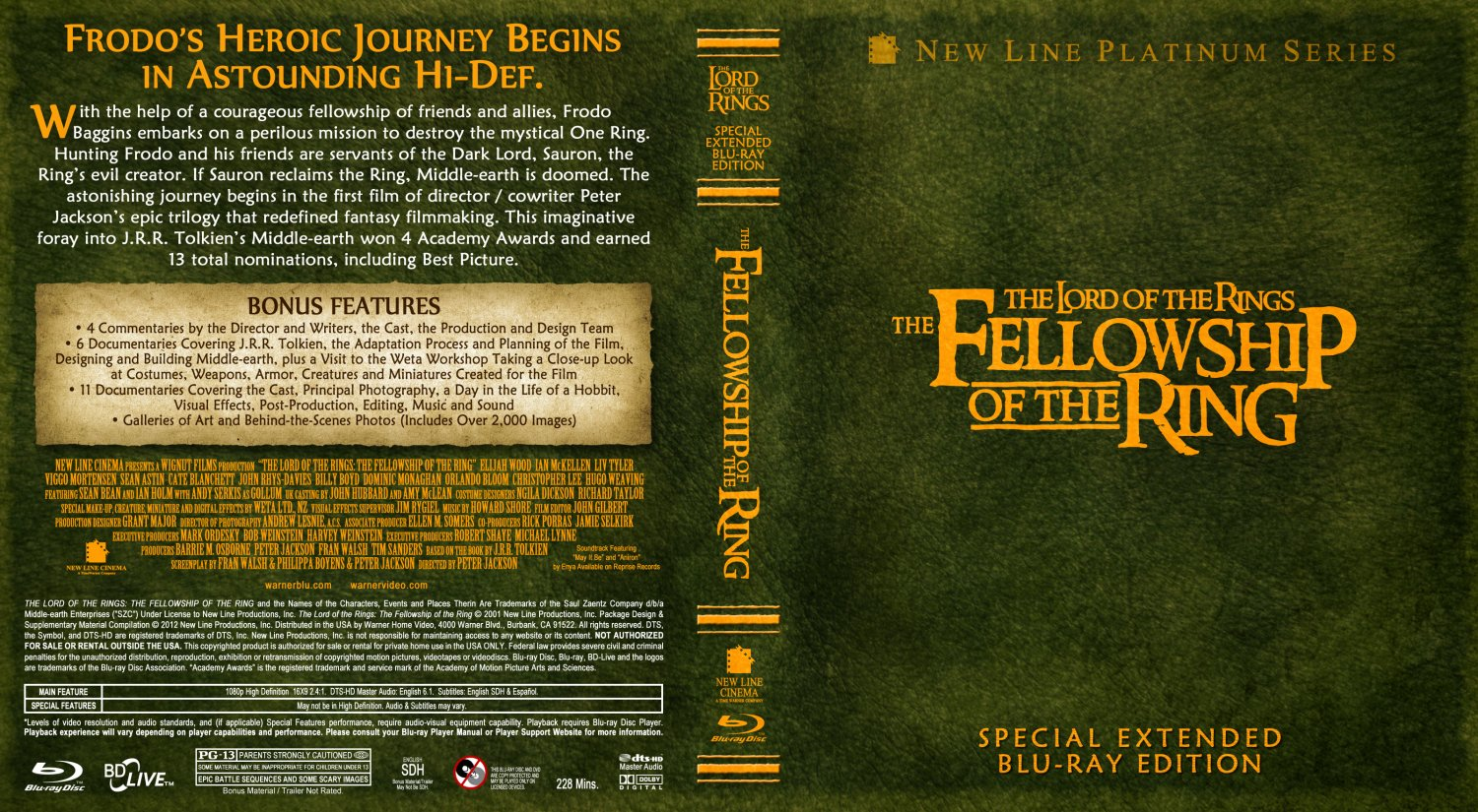 Watch Fellowship Of The Ring Special Extended Edition Online