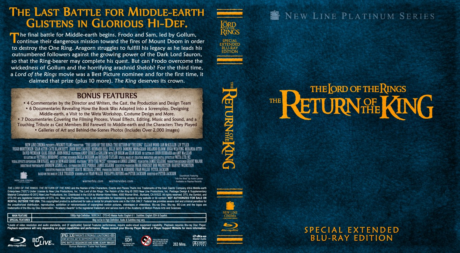 The Lord Of The Rings 3 - The Return Of The King - Movie ...