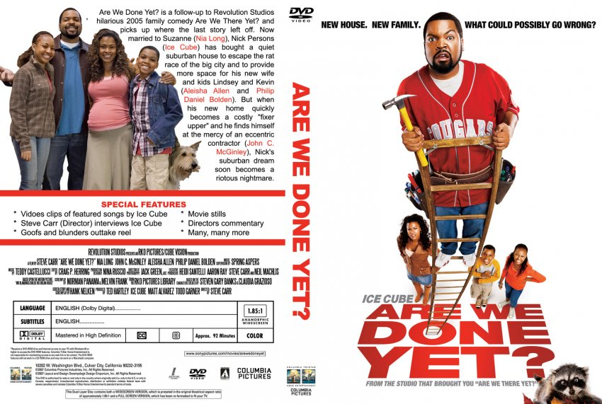 Are We Done Yet? - Movie DVD Custom Covers - 2873Are We ...