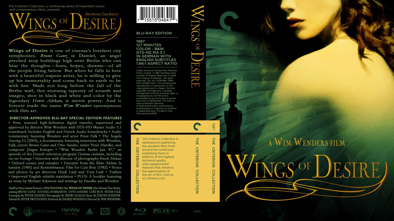 wings of desire a rare experience essay