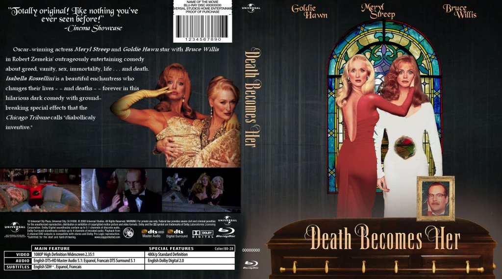 Death Becomes Her - Movie Blu-Ray Custom Covers - WIP ...
