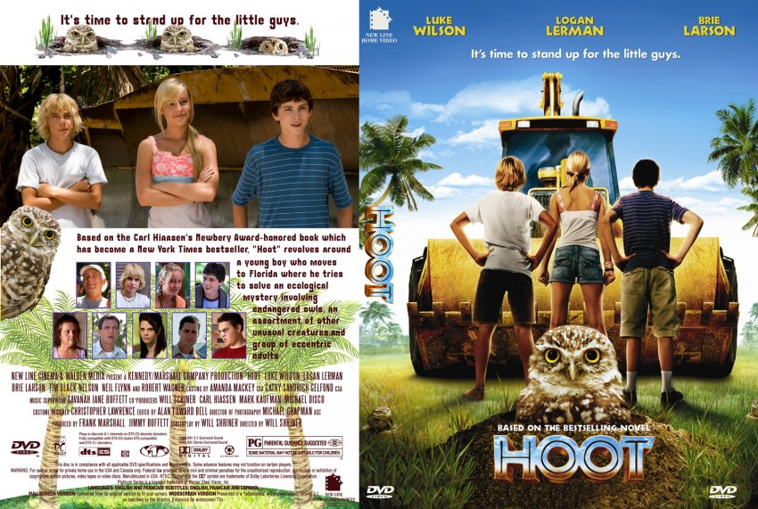 hoot movie dvd custom covers 2873hoot cover dvd covers