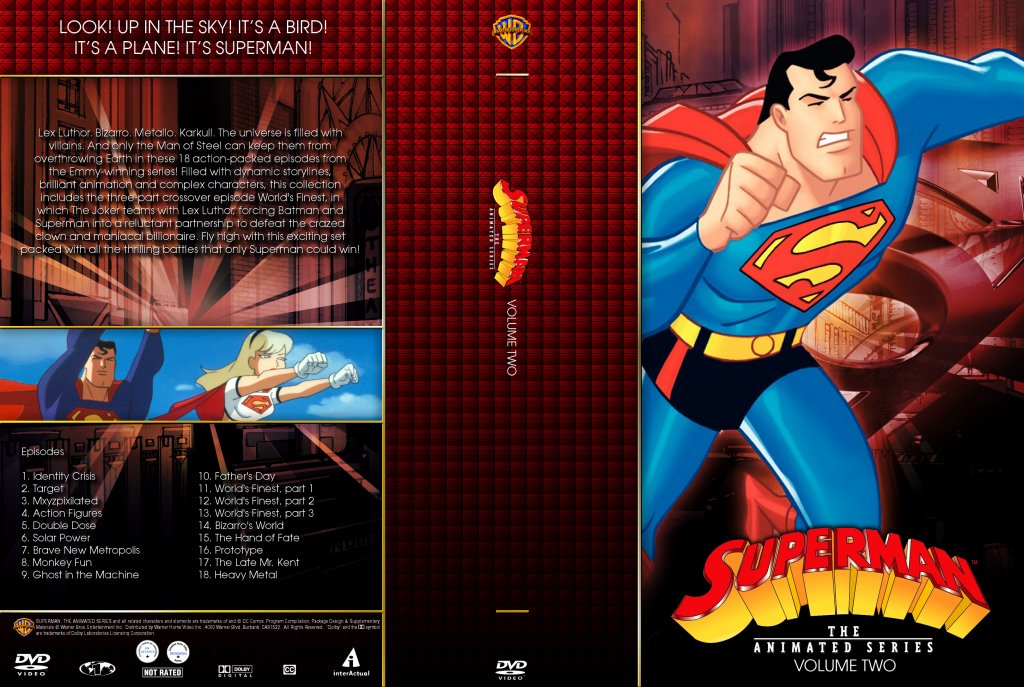 Superman the animated series characters