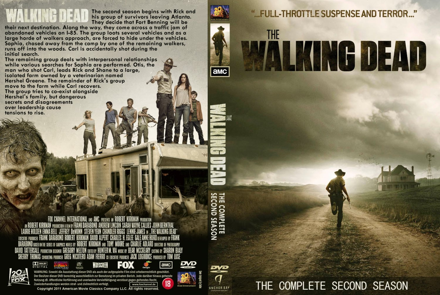 The Walking Dead - Stagione 2 Completa (2011-2012) 4xDVD9 1:1 ITA ENG