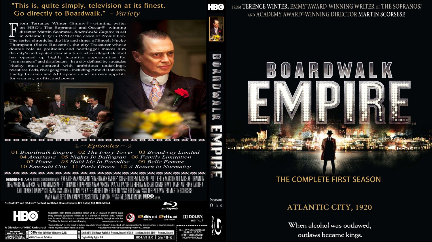 Photos Boardwalk Empire Boardwalk Empire Season 1