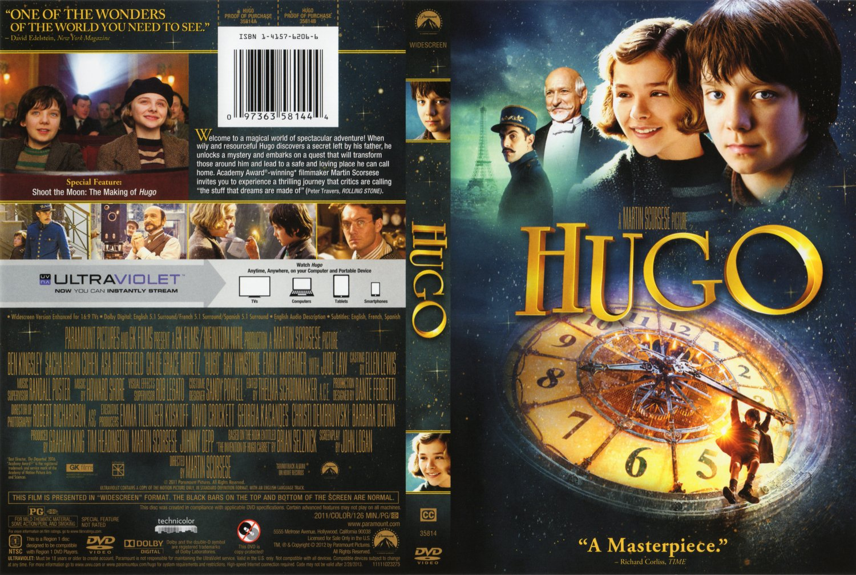 Hugo 2011 NTSC cover - Movie DVD Scanned Covers - Hugo ...