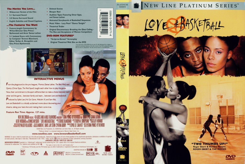 Love And Basketball - Movie DVD Scanned Covers - Love And ...