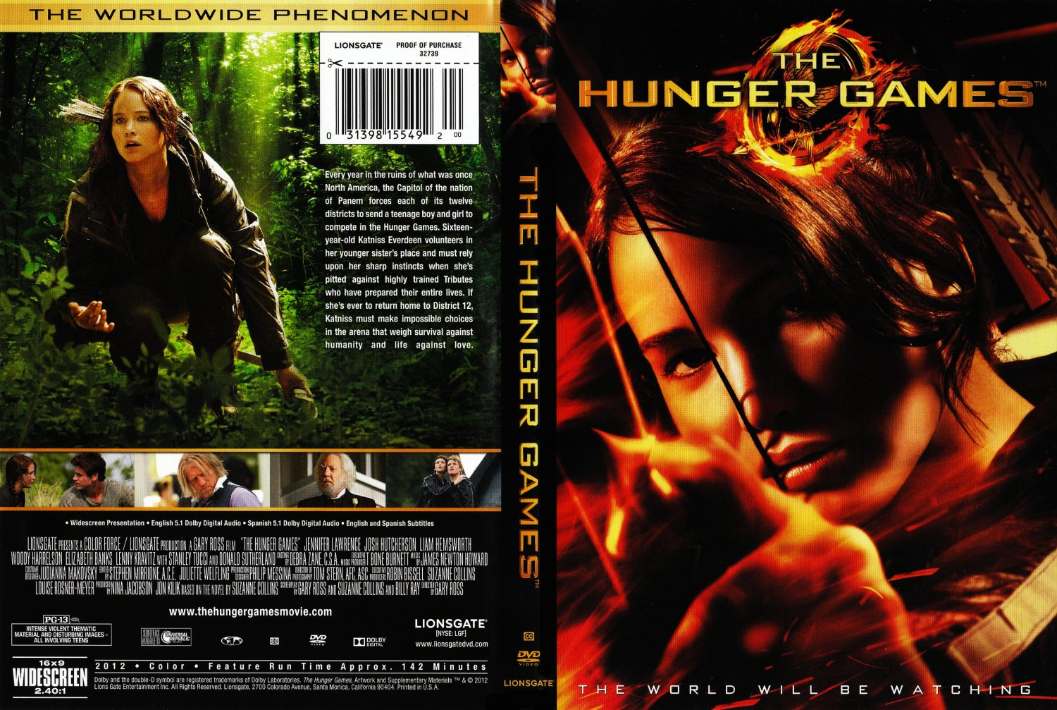Hunger games dvd release date in Perth