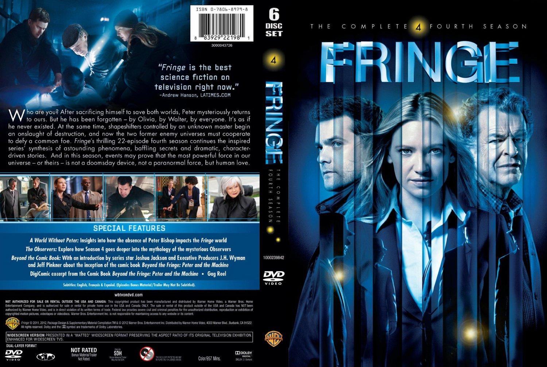 ... Season 4 - TV DVD Scanned Covers - Fringe Season 4 :: DVD Covers