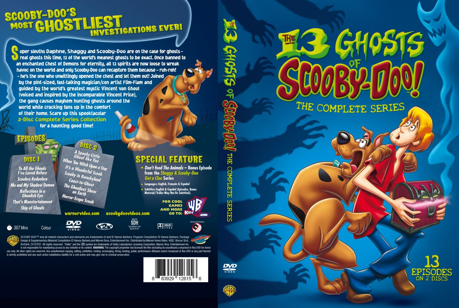 The 13 ghosts of scooby doo the complete series
