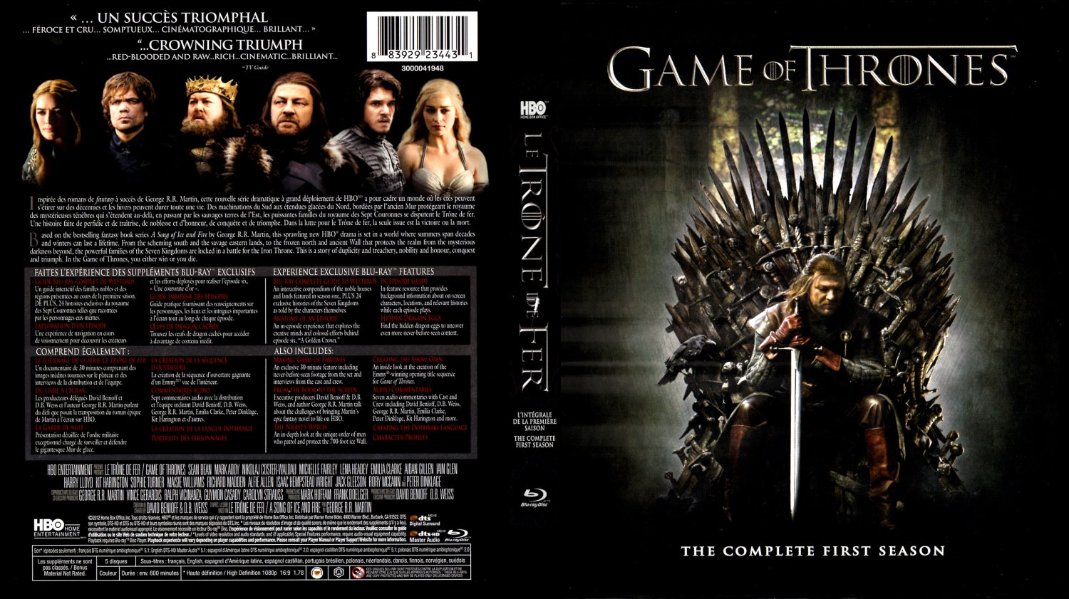 game of thrones season 2 dvd cover quotes. Black Bedroom Furniture Sets. Home Design Ideas