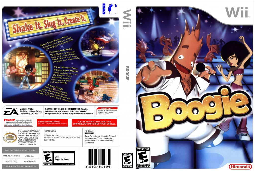 Boogie - Nintendo Wii Game Covers