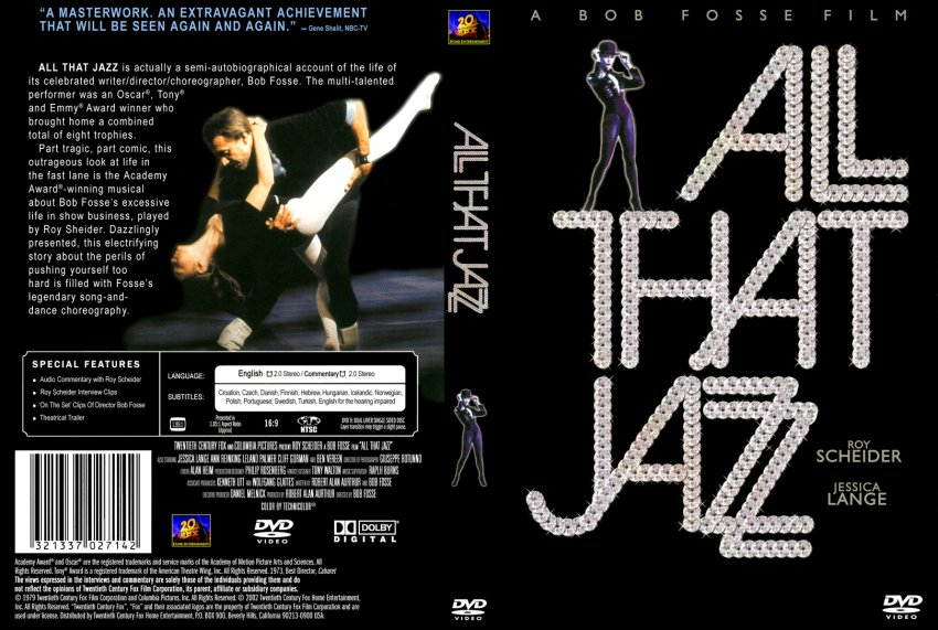 Jazz Cover Art Book : All that jazz movie dvd custom covers