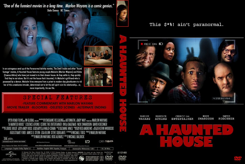 Haunted House 2 Dvd Cover