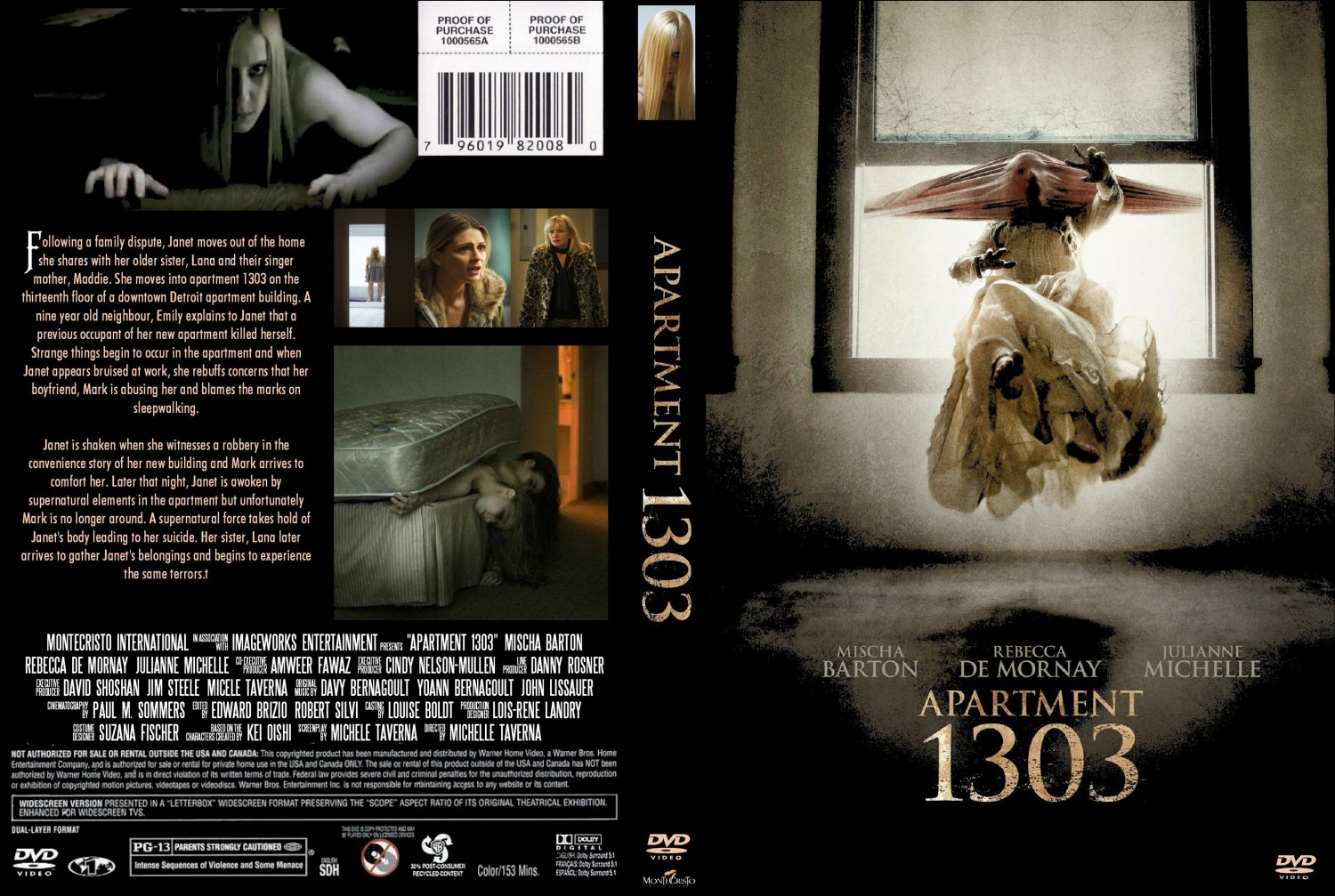 Apartment 1303 - Movie DVD Custom Covers - Apartment 1303 ...
