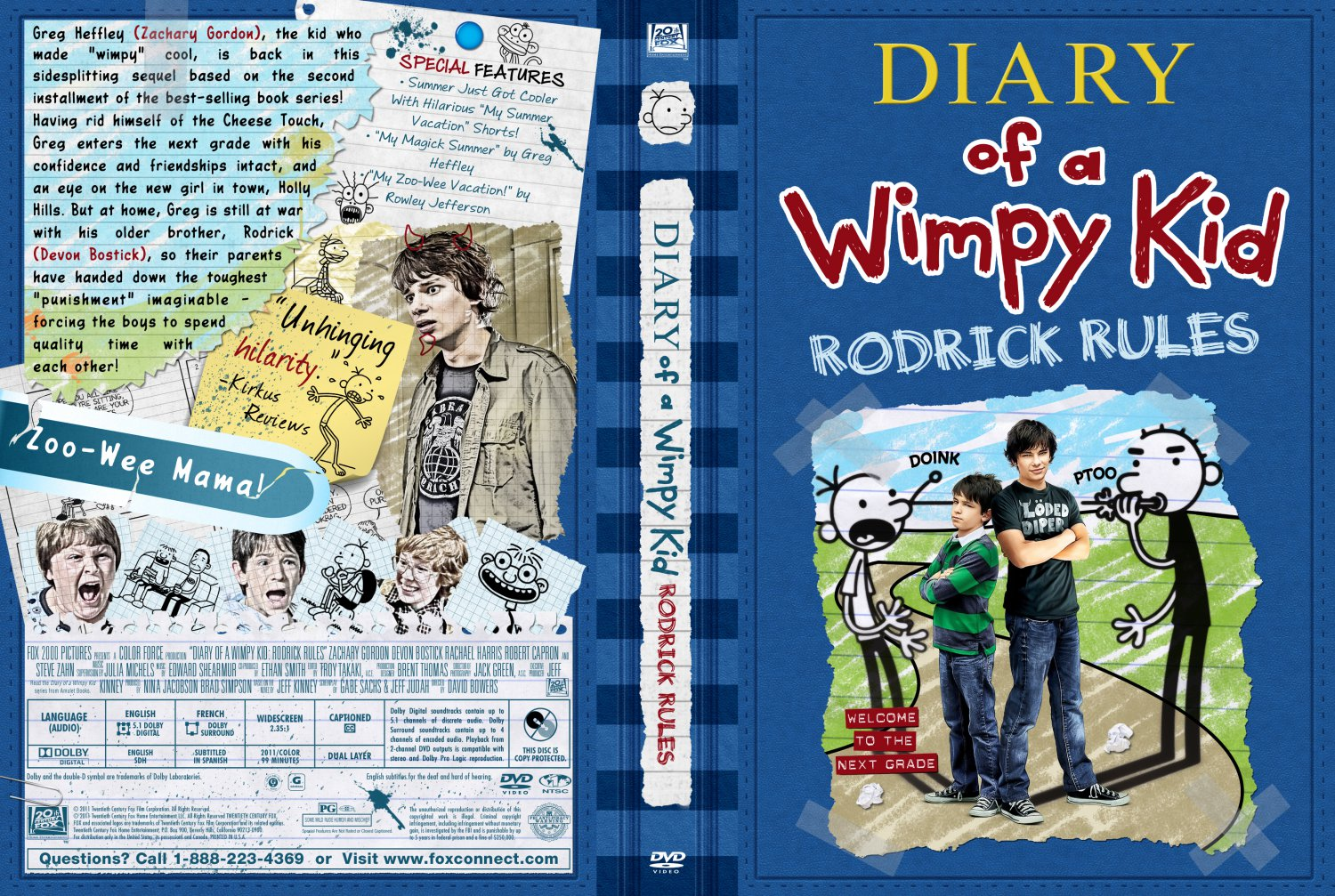 Diary of a Wimpy Kid Rodrick Rules MovieDiary Of A Wimpy Kid Rodrick Rules Book Pictures