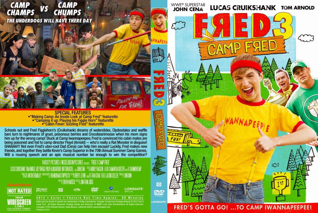 Fred the movie 3 camp fred