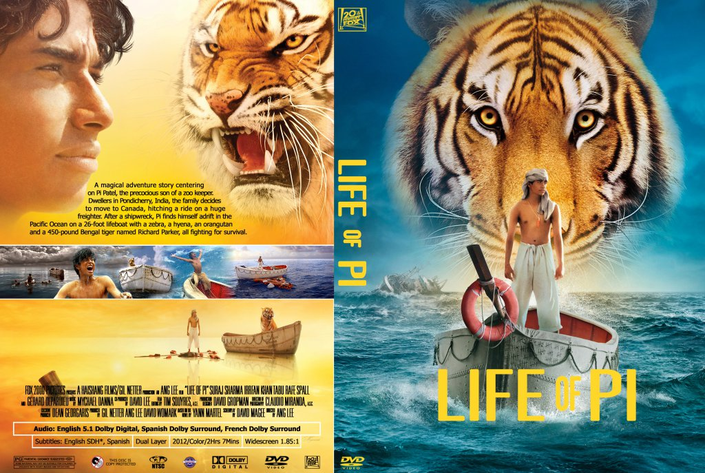 Life of pi movie dvd custom covers life of pi dvd for Life of pi in hindi