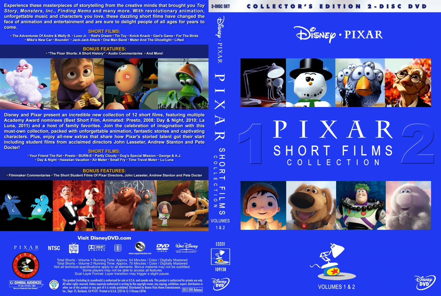 pixar short films collection 2 dvdr : money in the bank 2014 online