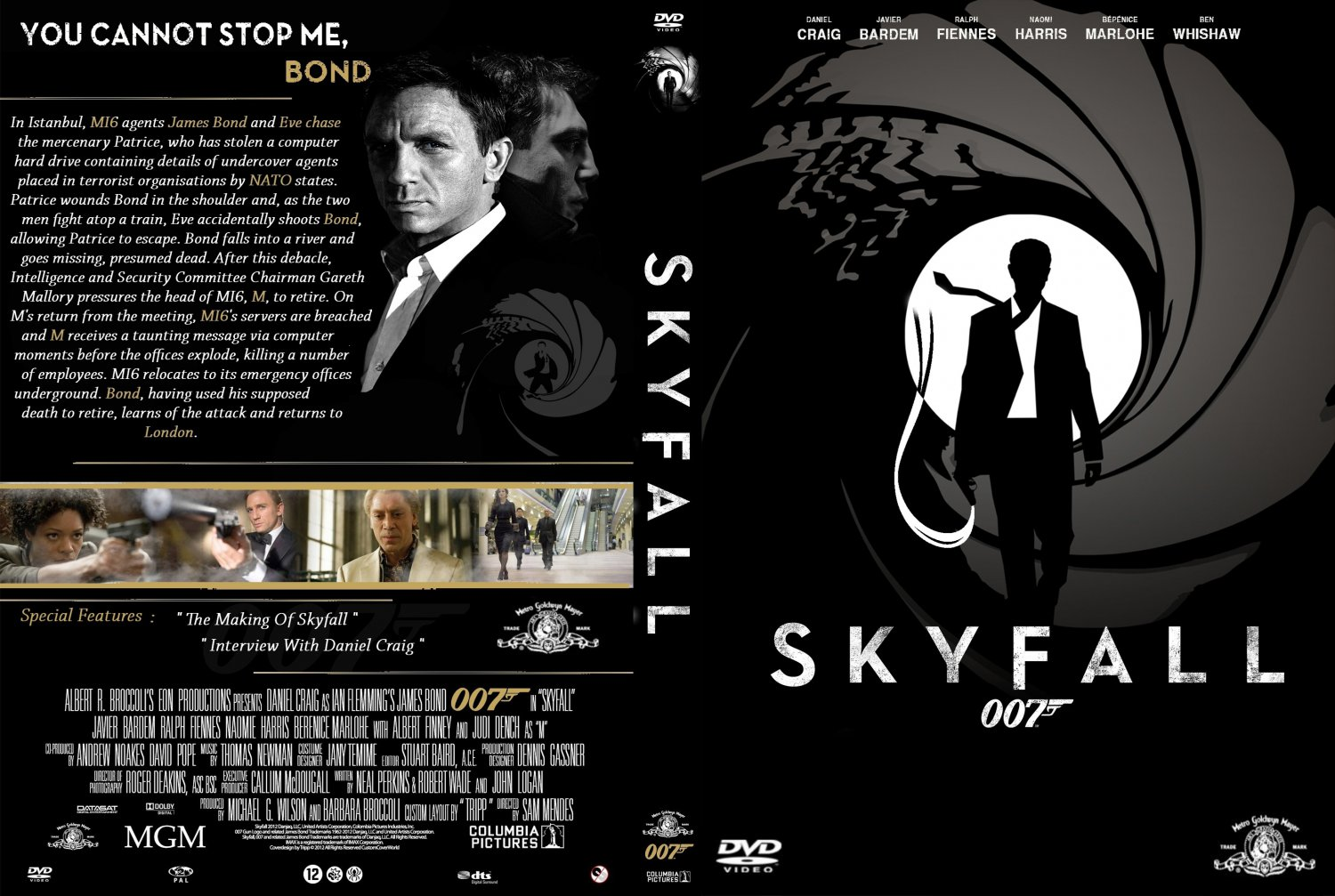 Pics Photos - 00...007 Skyfall Dvd Cover