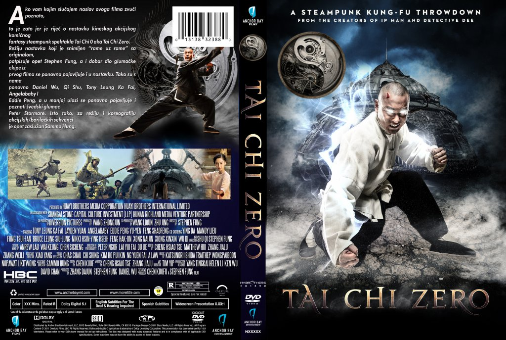 Man Of Tai Chi Dvd Cover