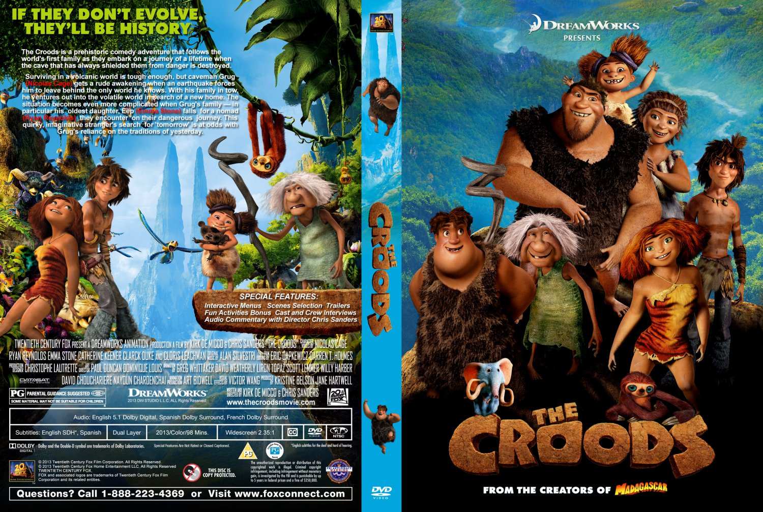the croods the croods 2013 custom cover date 03 18 2013 size 1024x687