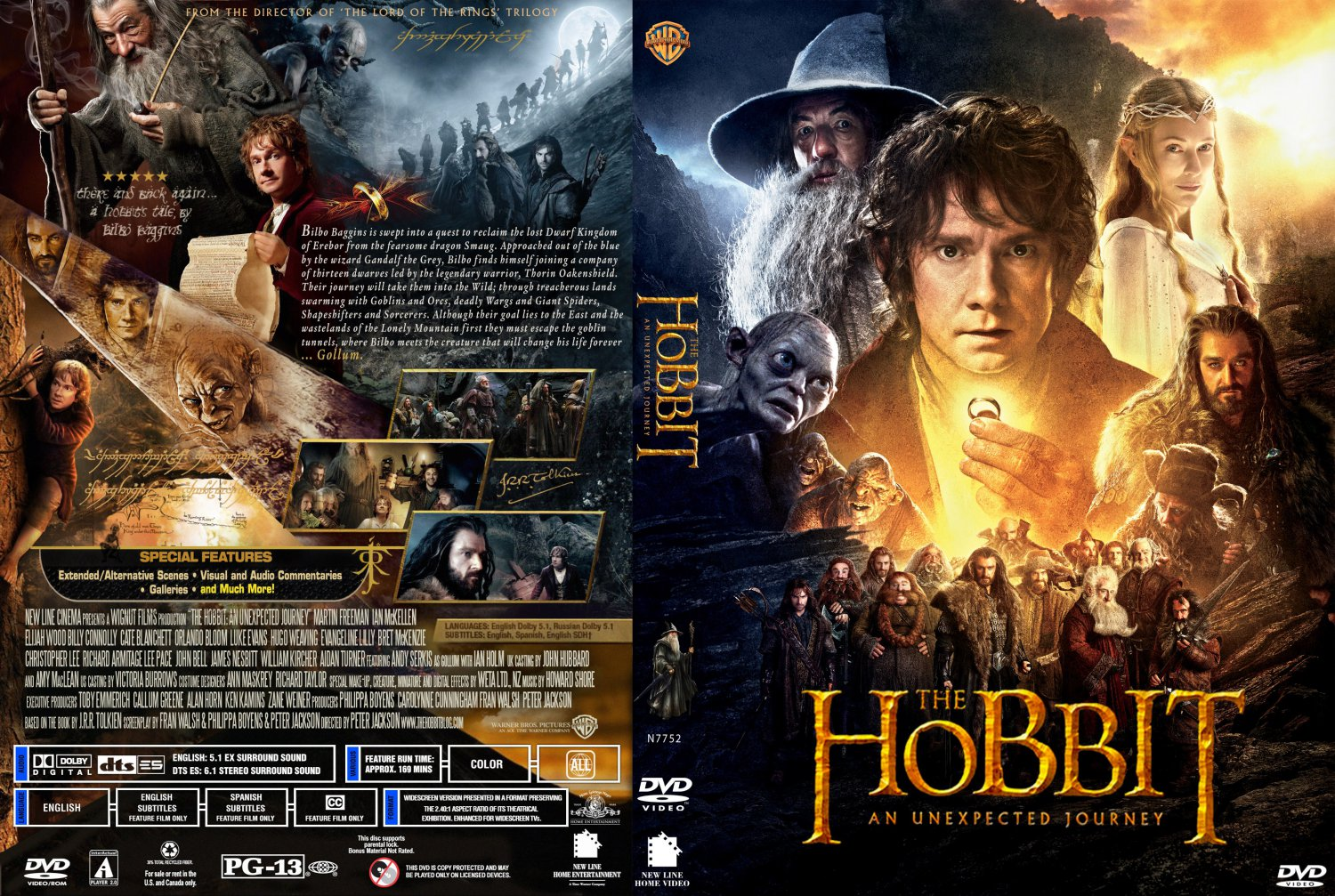 an unexpected journey the hobbit an unexpected journey custom2 date 03    The Hobbit An Unexpected Journey Dvd