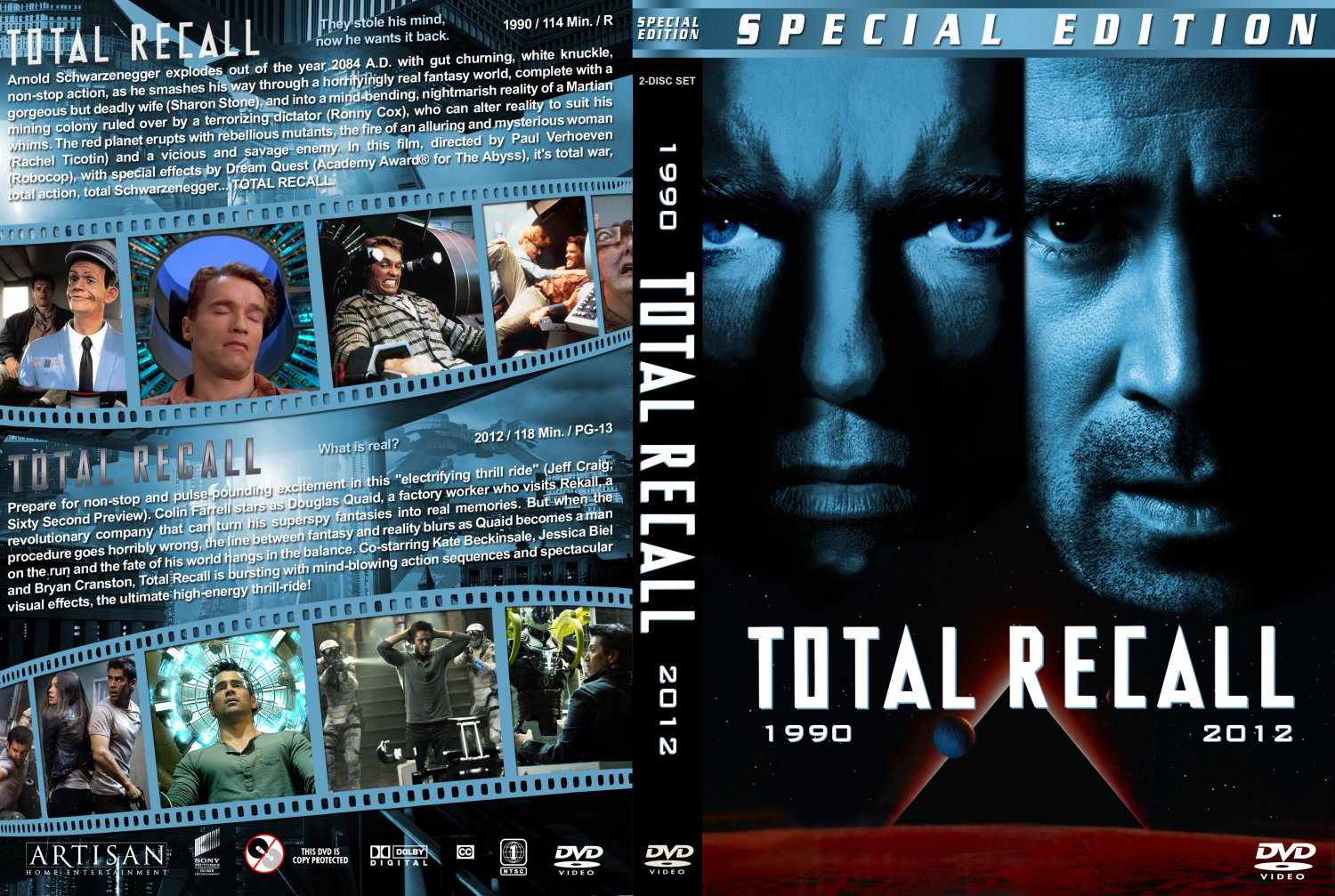 Total Recall Double Feature - - 378.8KB