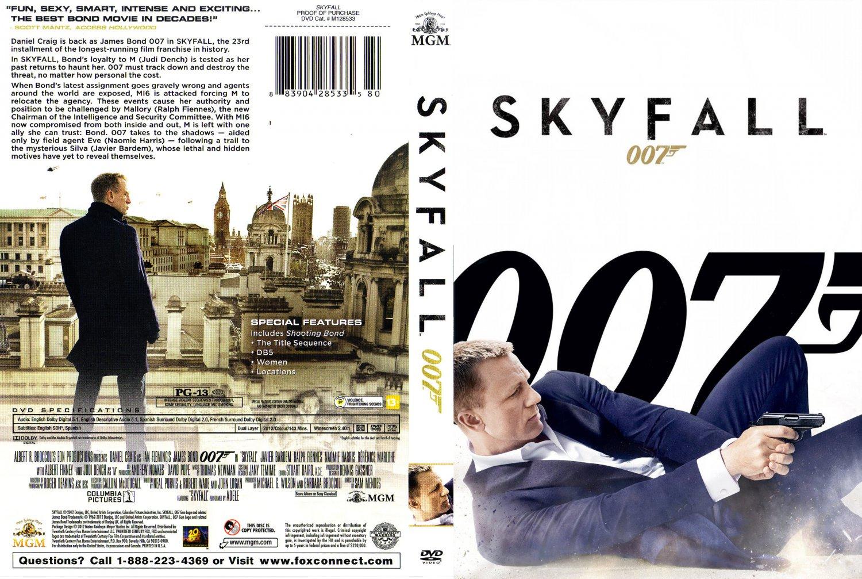 007 - Skyfall - ...007 Skyfall Dvd Cover